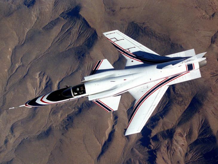 Grumann X-29, 1984 год