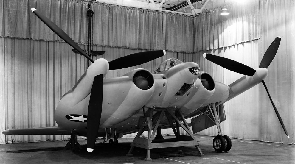 Vought XF-5U, 1943 год