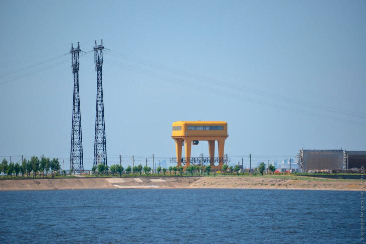 Инопланетные устройства Волжского гидроузла.
