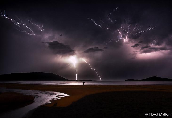 Удары молнии в Новом Южном Уэльсе
