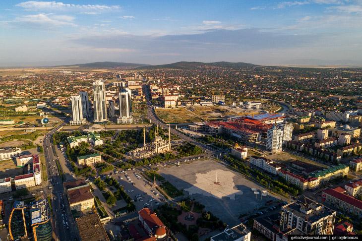 Площадь Ахмата Кадырова