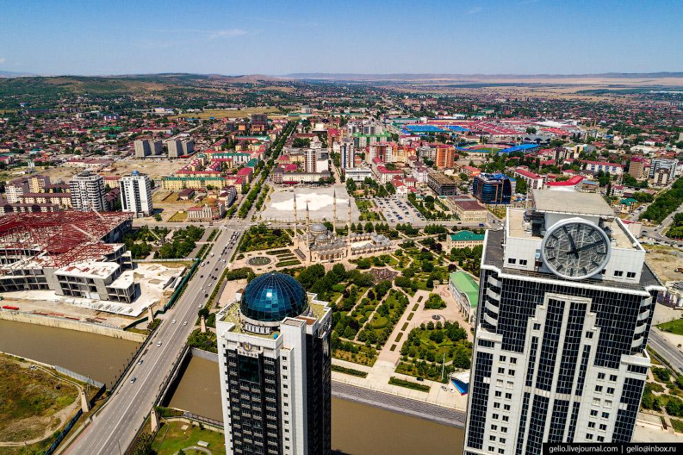 Проспект Владимира Путина — главная улица Грозного