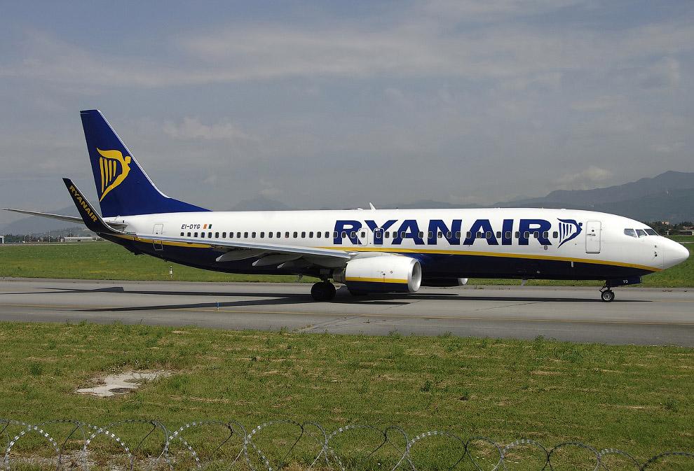 Ryanair 4102 (Boeing 737-8AS)