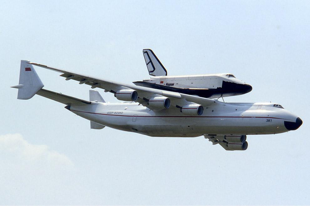 Ан-225 и «Буран»