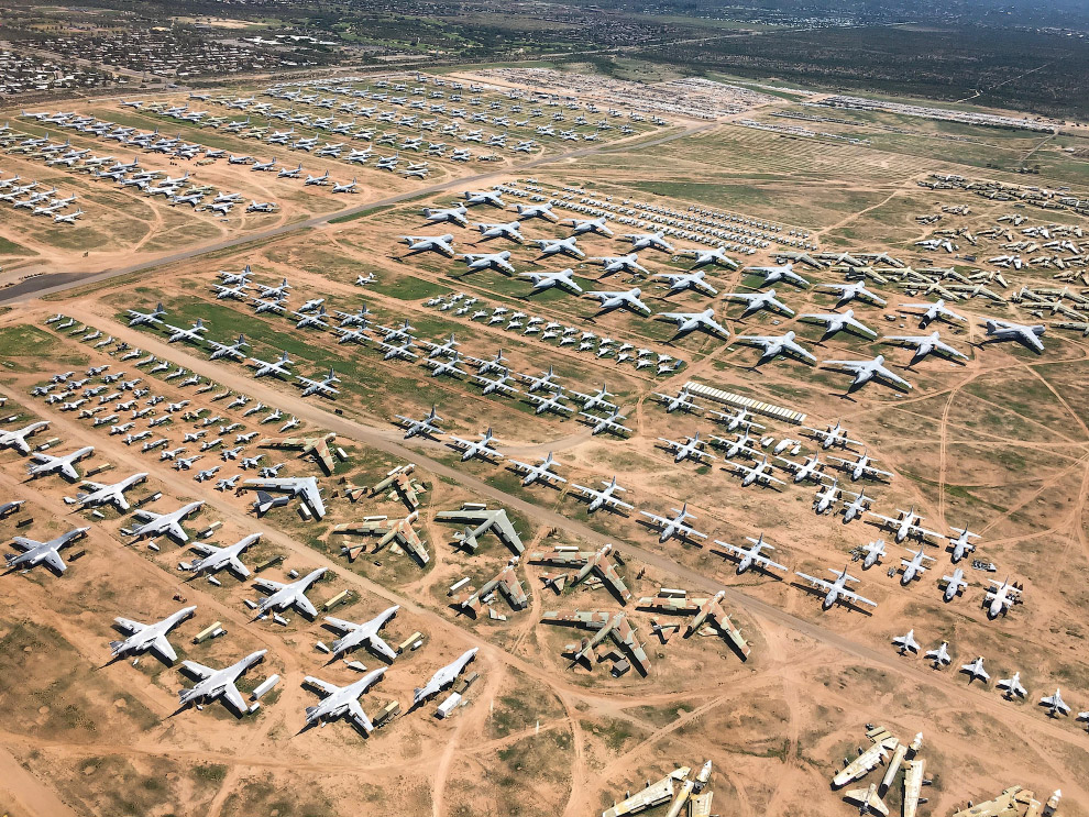 Кладбище авиационной техники