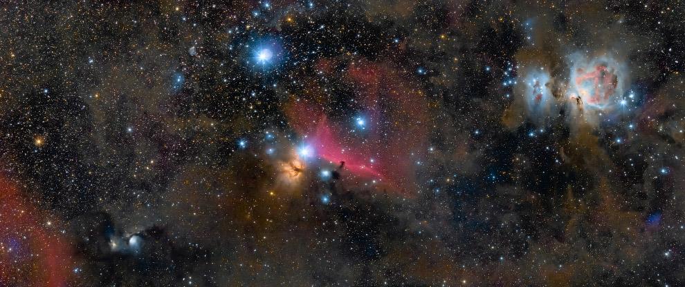Орион — созвездие в области небесного экватора