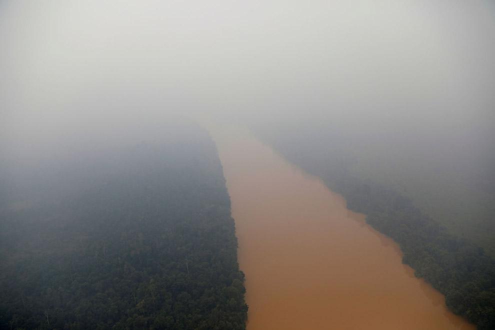 Река Кахаян или Большой Dyak