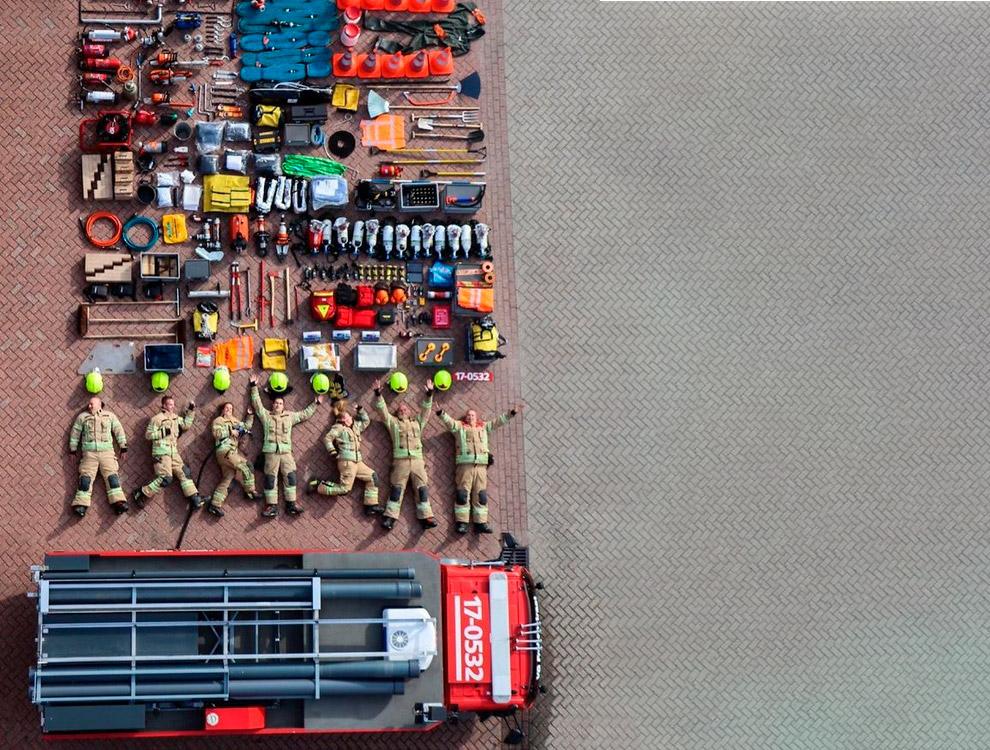 Пожарные из Нидерландов