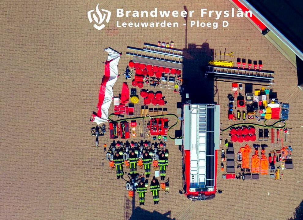 Нидерландские пожарные
