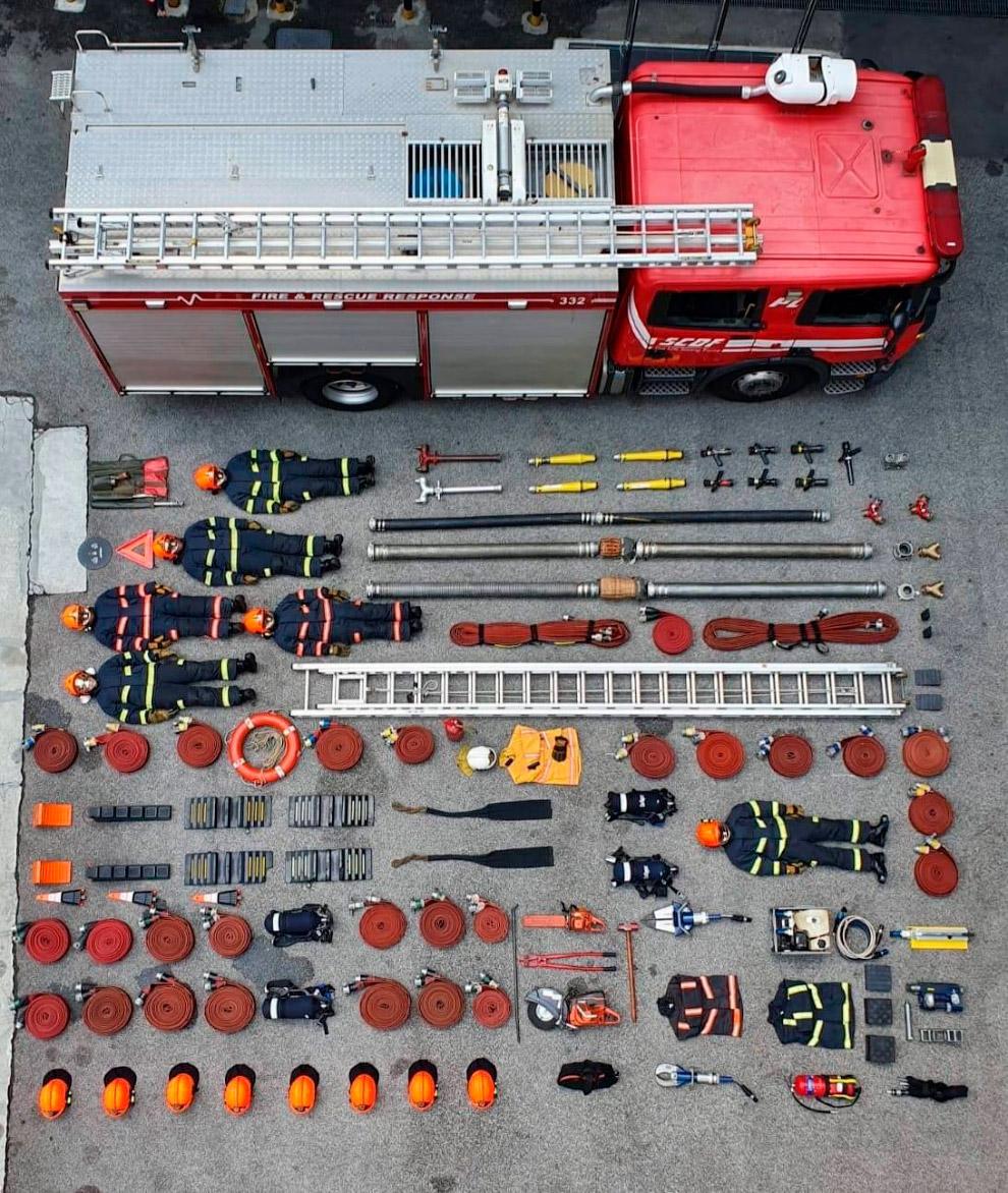 Сингапурские пожарные