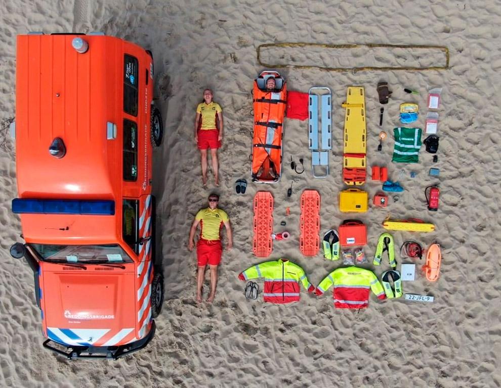 Нидерландские спасатели