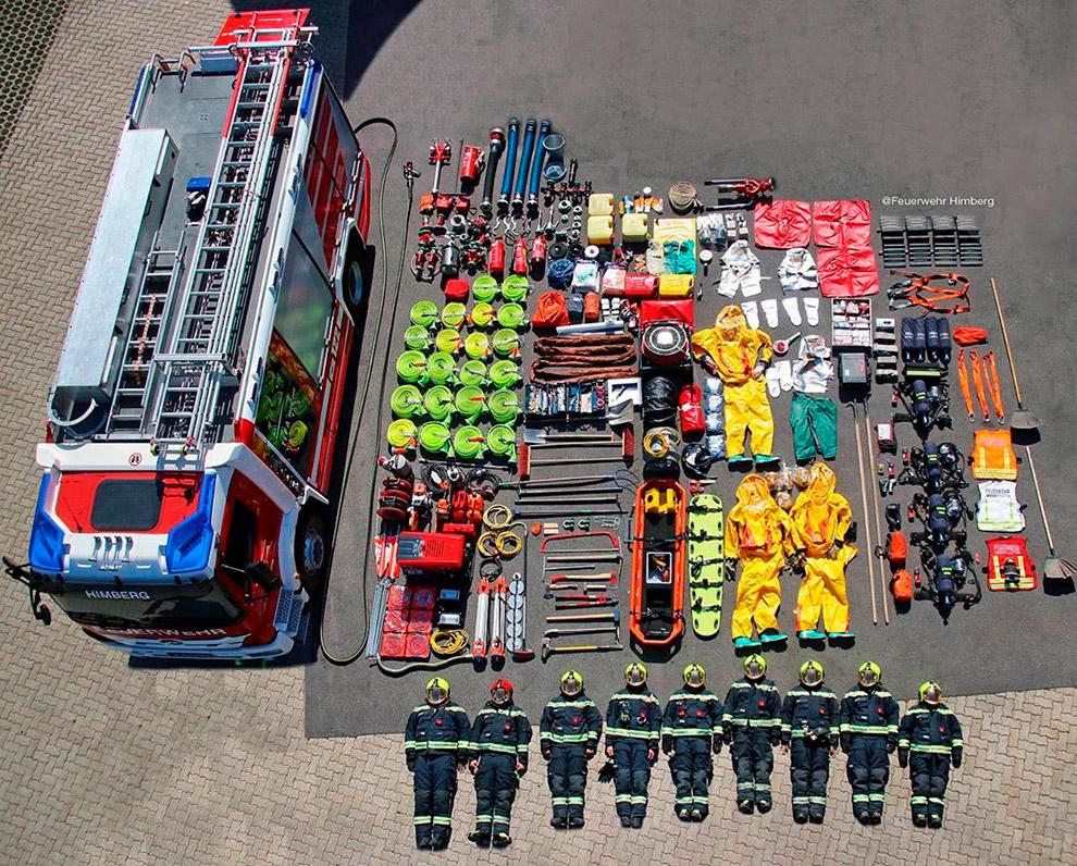 Австрийские пожарные