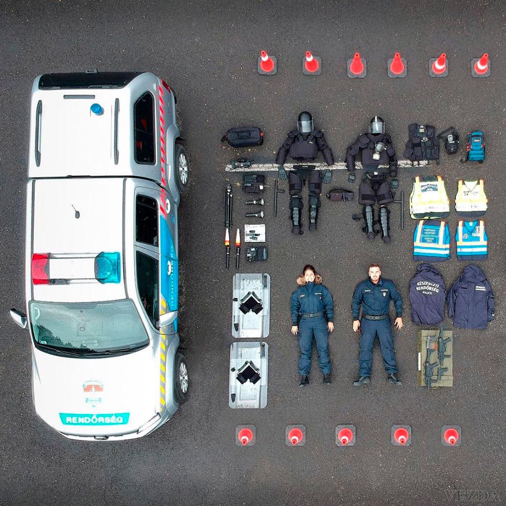Венгерская полиция