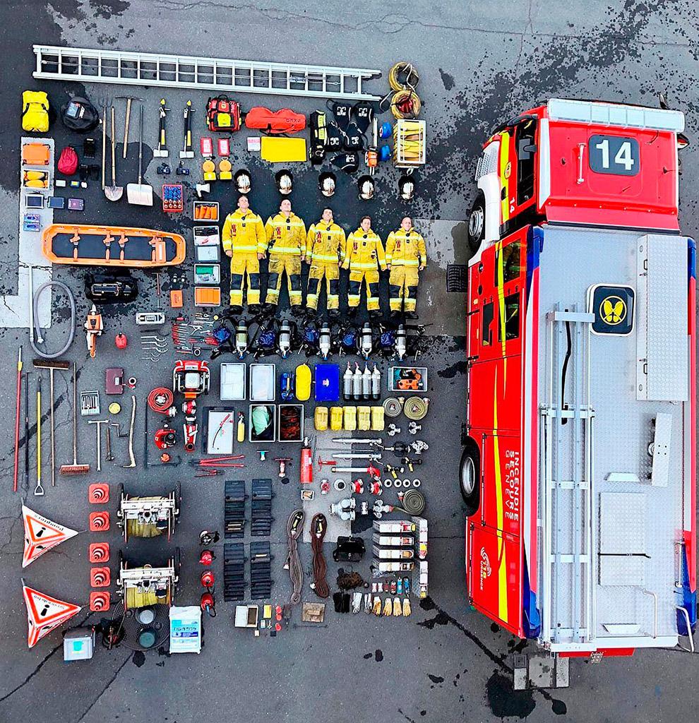 Женевские пожарные