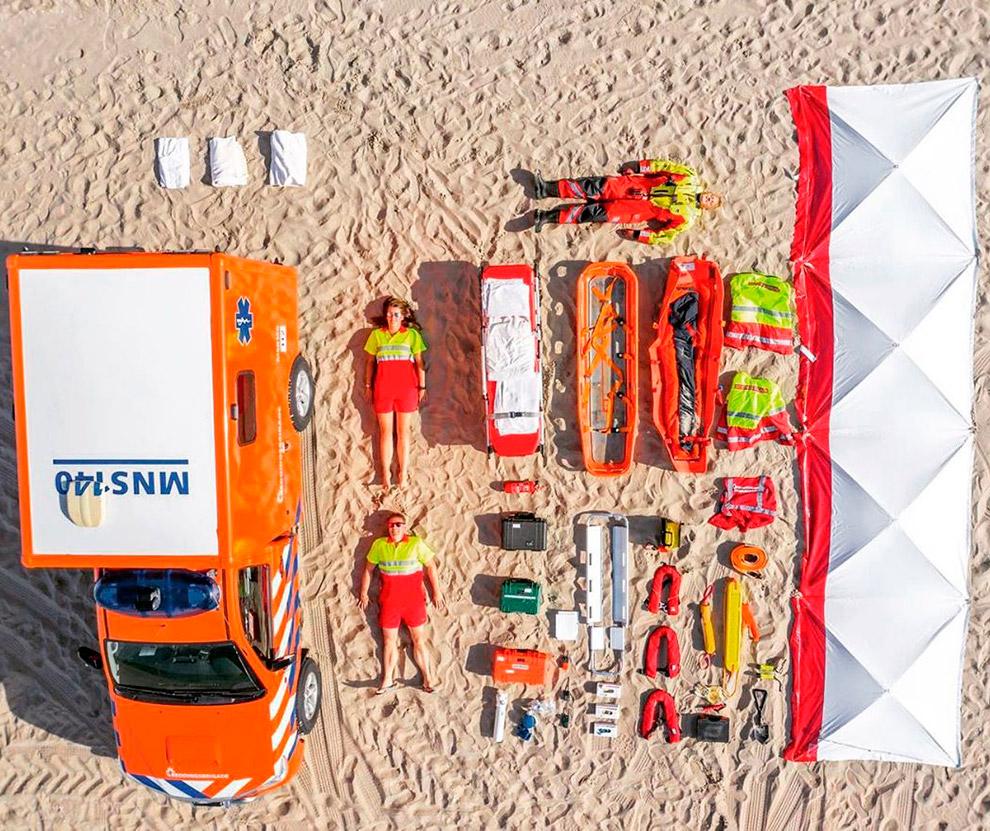 Спасатели из Нидерландов