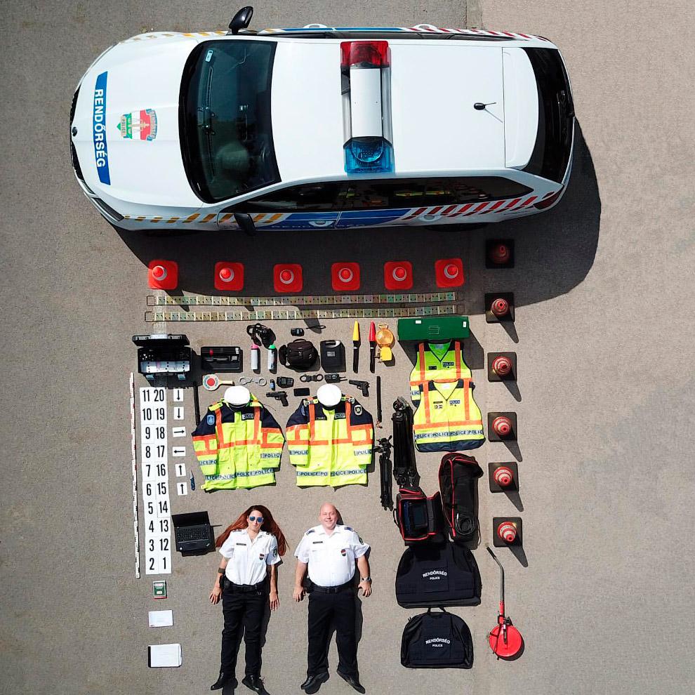 Полиция из венгерского города