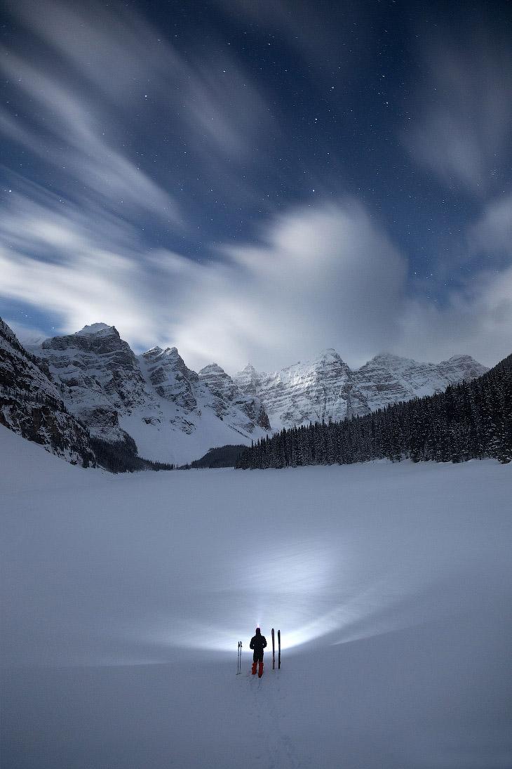 Озеро Морейн в Канаді