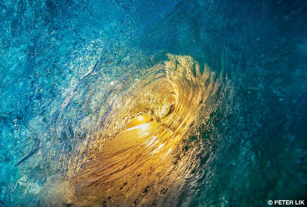 Внутри волны, Гавайи