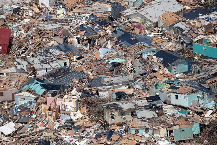 Апокалипсис, или ураган Дориан на Багамах
