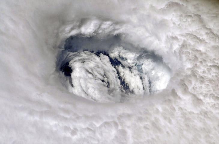 Вид с Международной космической станции