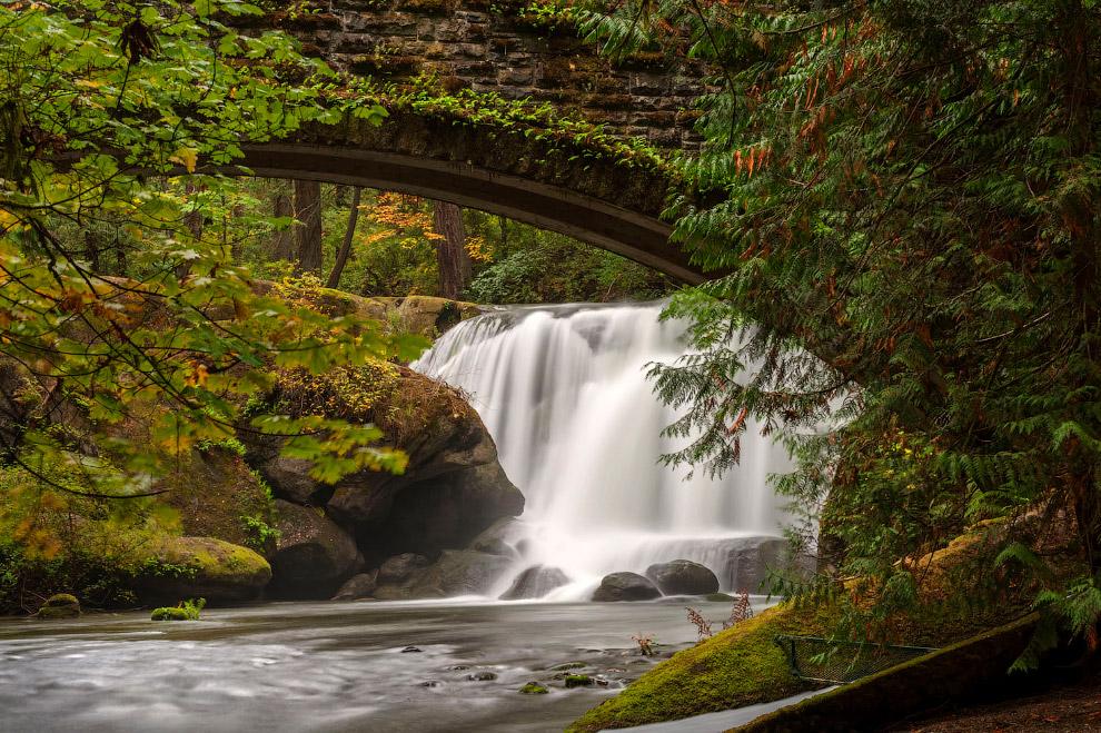 Парк в Беллингхэме, штат Вашингтон