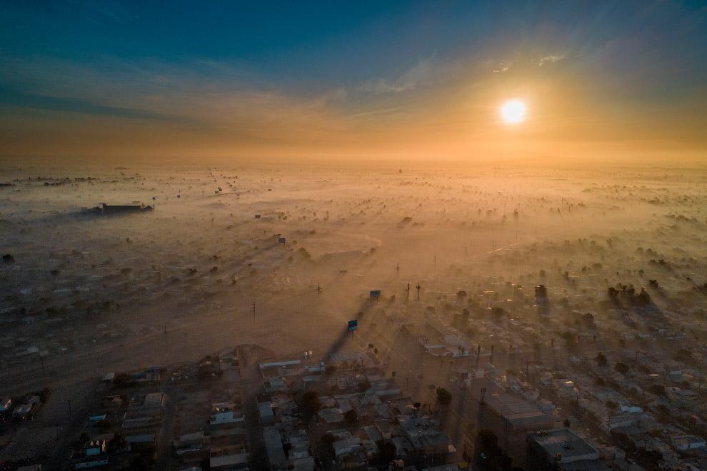 Мехикали, Мексика является одним из самых загрязненных городов мира