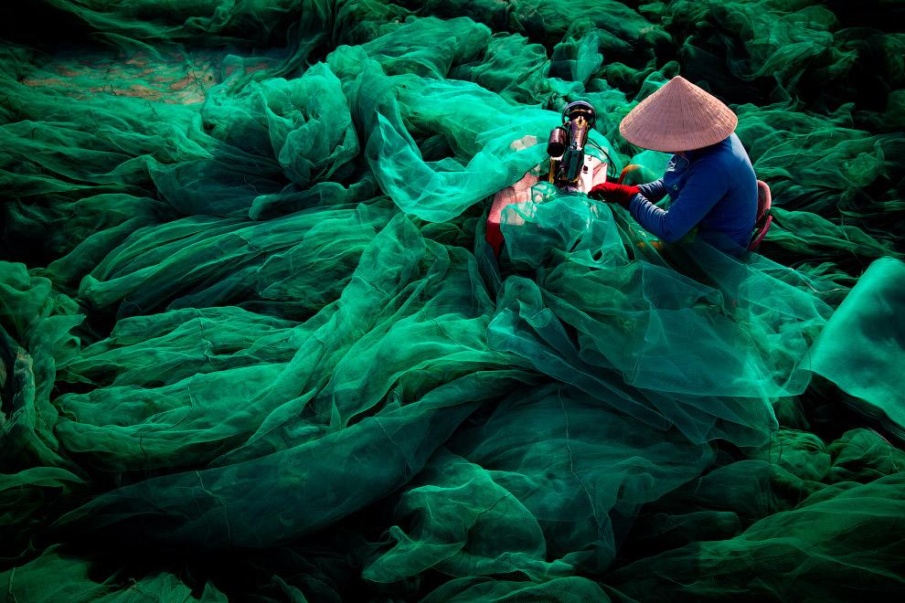 Швейная фабрика по производству сетей, Вьетнам