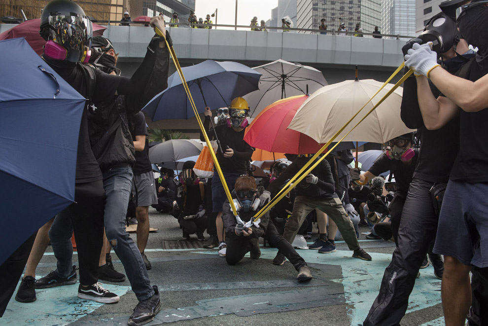 Московские протестующие