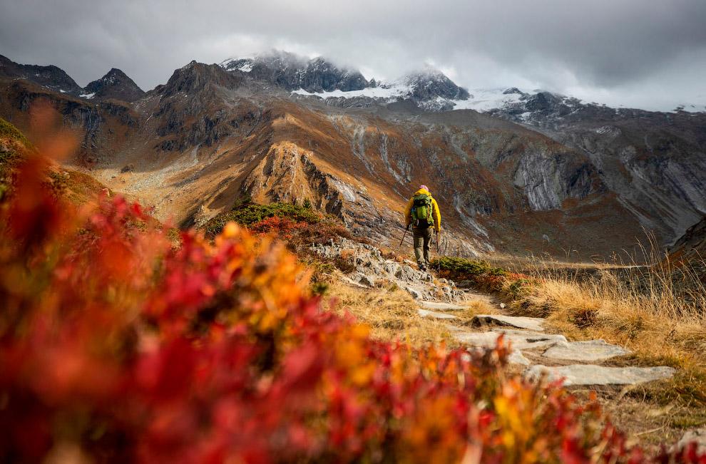 Осенние Альпы, Австрия