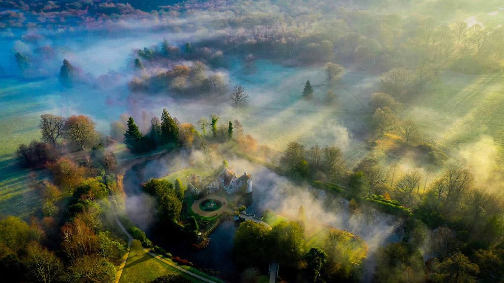 Замок Скотни: атмосферный английский загородный дом, окруженный садами