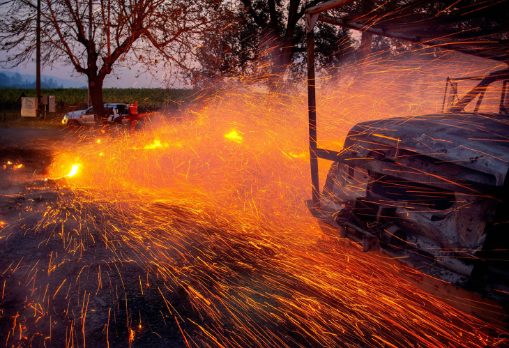 Калифорния горит каждый год