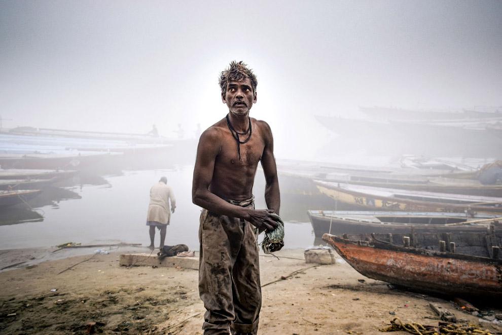 Местные жители в Варанаси