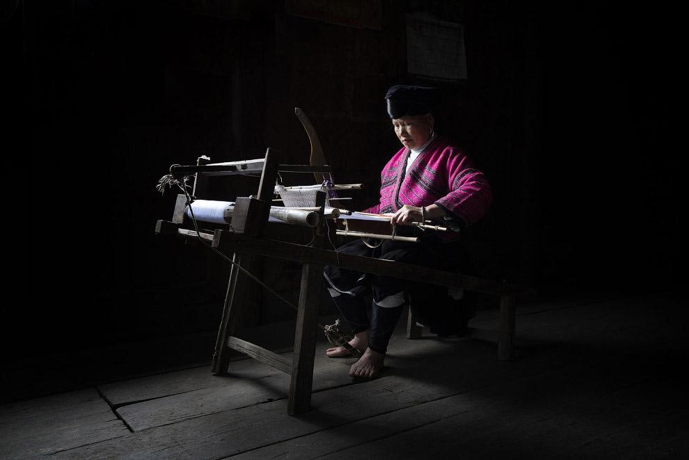 Ткацкий станок, Китай
