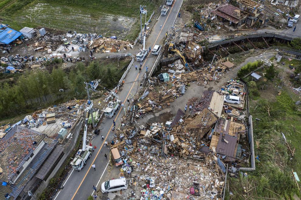 Тайфун «Хагибис» в Японии