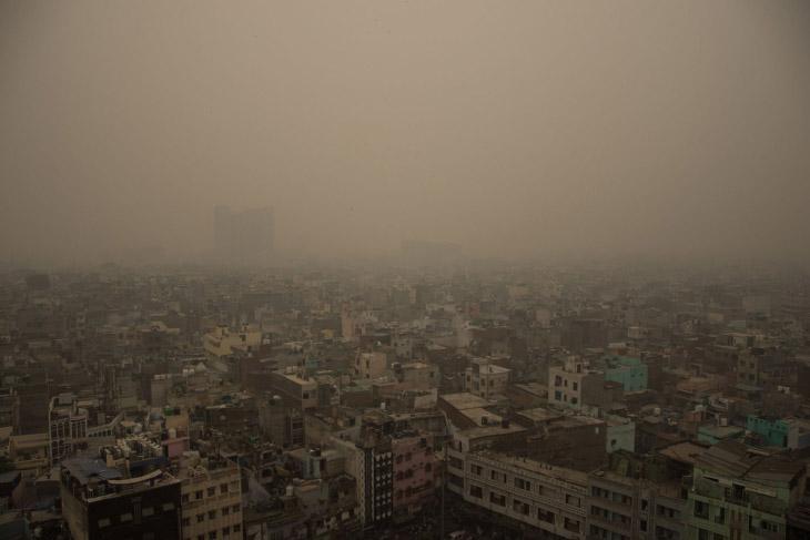 Великий смог в Нью-дели