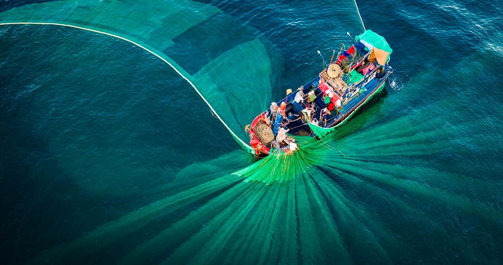 43 місце конкурсу і рибалки з мережами