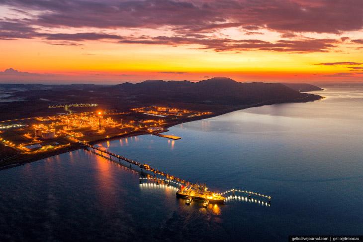 Первый в России завод по сжижению природного газа