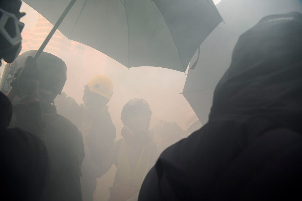 Как протестуют в Гонконге