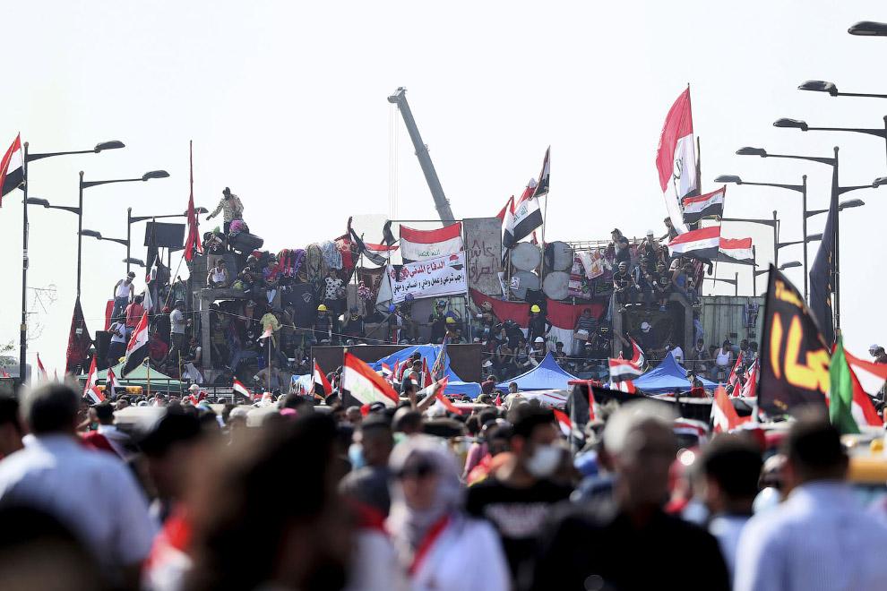 Баррикады, Багдад