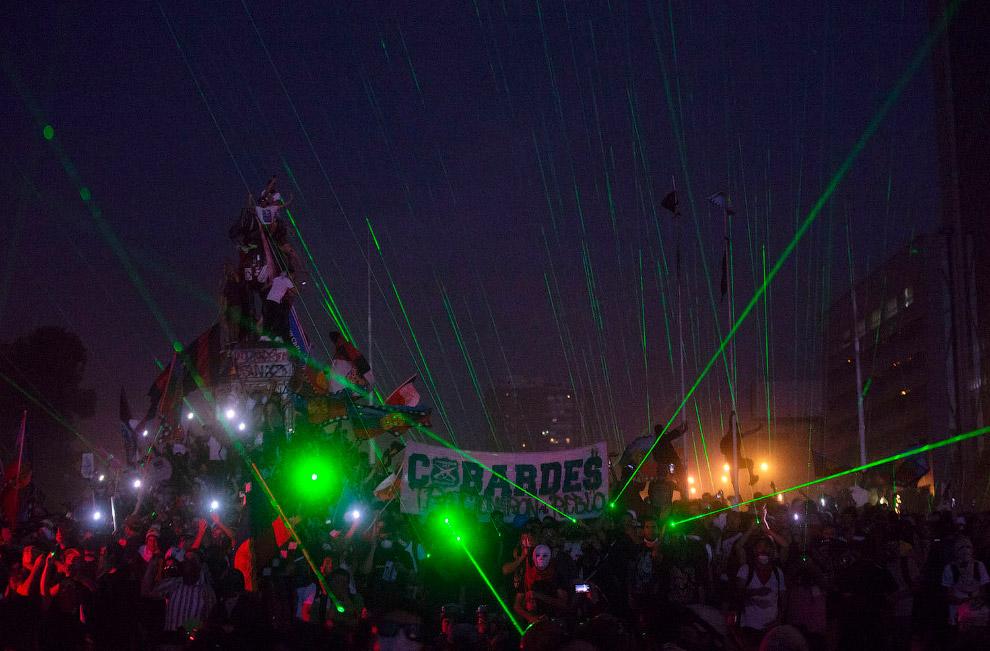 Лазерные указки в Сантьяго