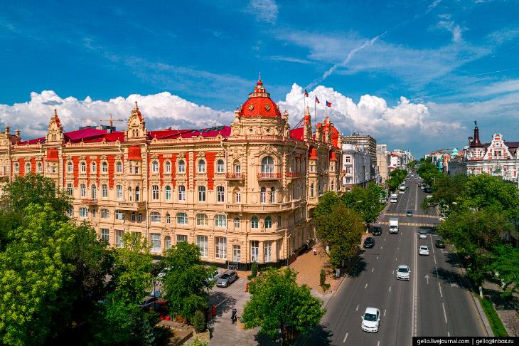 Ростов-на-Дону — южная столица России с высоты