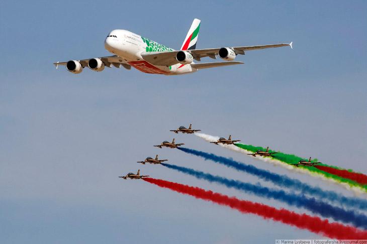 Авиасалон в Дубае 2019