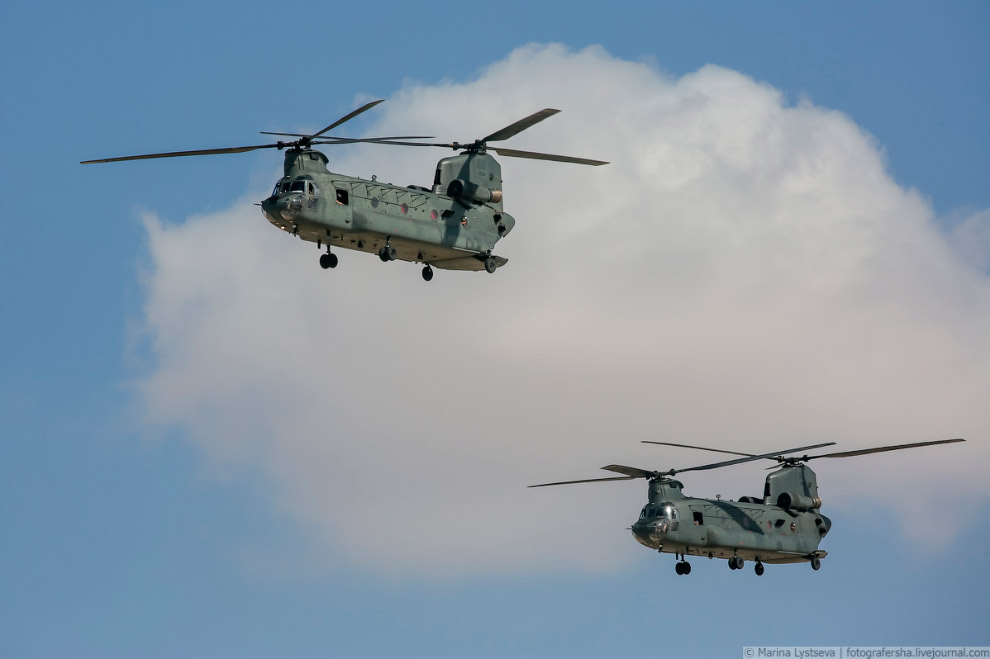 «Чинуки» CH-47F