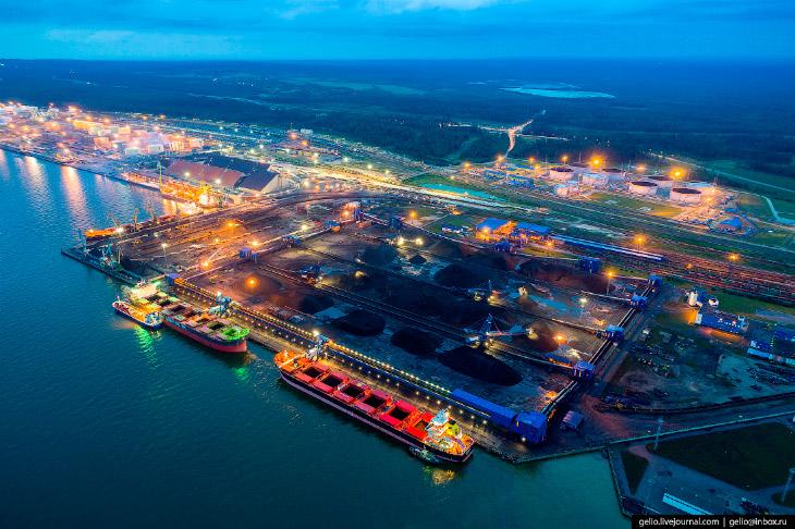 Крупнейший угольный терминал в Европейской части России