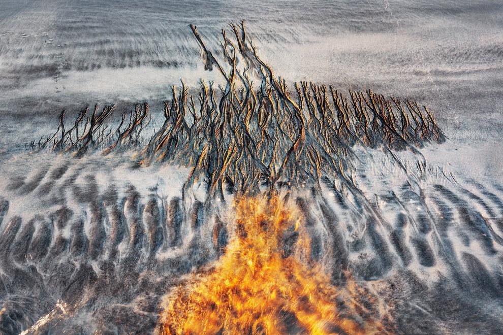 Текстуры на песке