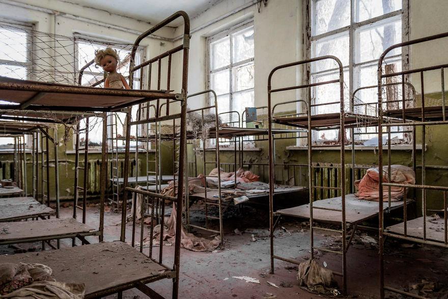Детский сад в Чернобыле