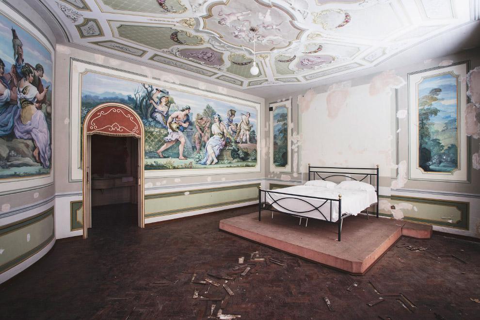 Заброшенный дом в Италии