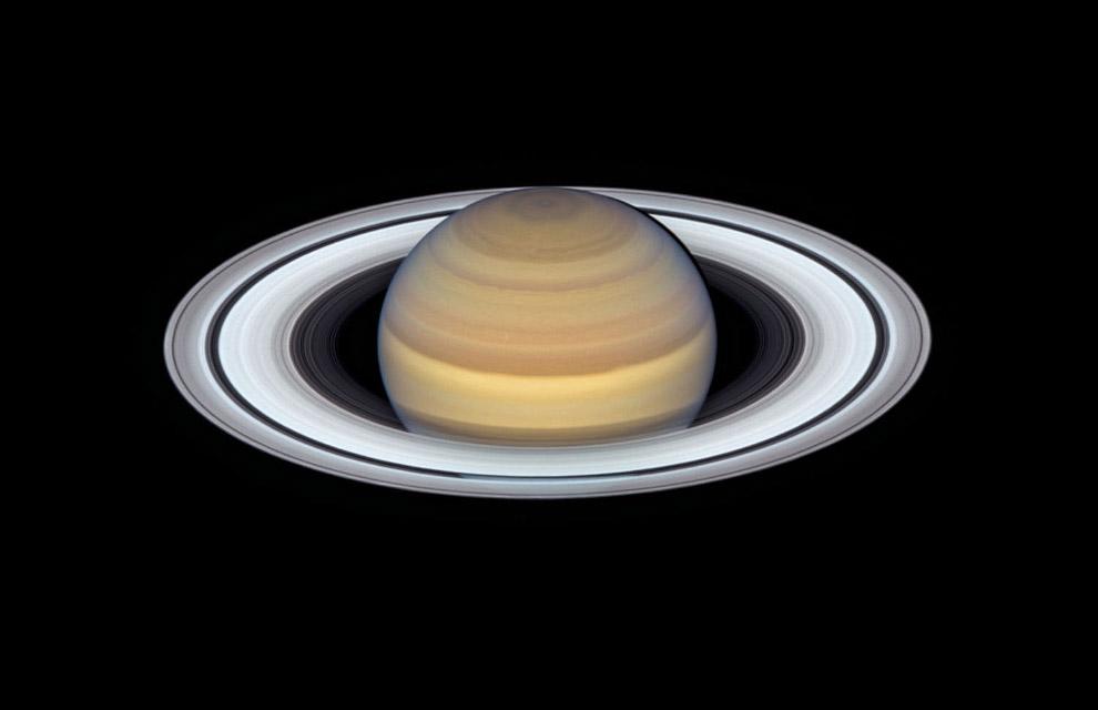 Сатурн и его кольца