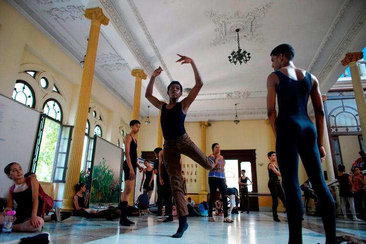 Балетная школа в Гаване, Куба
