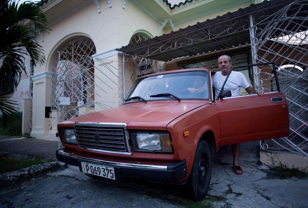 Хозяин купил новый автомобиль в 1986 году